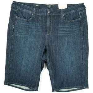 NYDJ Women Denim Jean Shorts Size 22 Boost Curves